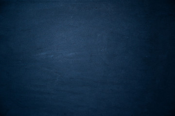 Foto op Canvas Stenen smooth old concrete background texture blue colored with radial gradient and copy space