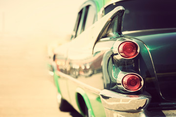 Fotomurales - classic vintage car tailights close-up