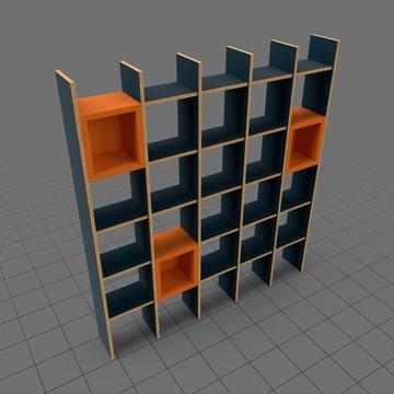 Modern bookshelf 3