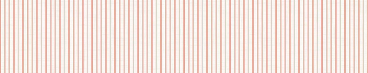 Seamless red grey vector geometric stripe border pattern. Mid century modern woven linen texture style banner background. Vintage 1950s warm color decorative edge. Geo abstract graphic ribbon trim