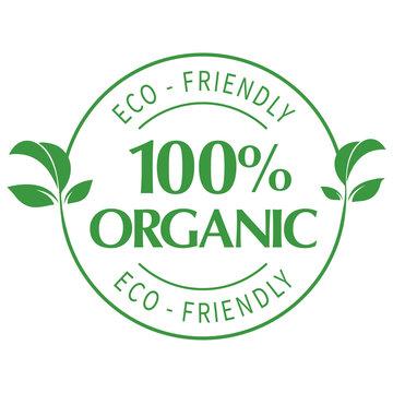 100% Organic Seal - ECO-Friendly