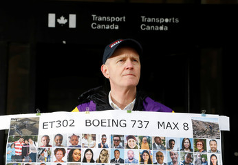 Chris Moore poses for a portrait at Transport Canada's headquarters  in Ottawa