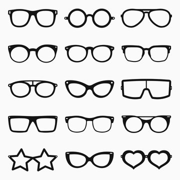 Glasses Vector Set