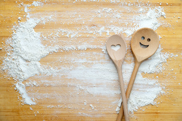 Happy cooking spoons