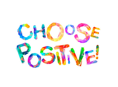 Choose positive. Words of triangular letters