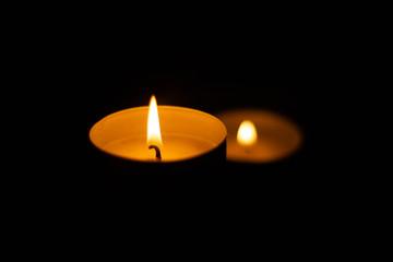 świeca, płomień