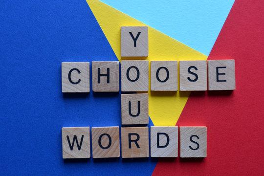 Choose Your Words, crossword