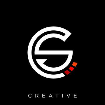 cs techno logo design