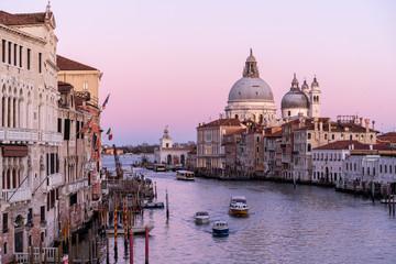 Aluminium Prints Venice Venice Twilight