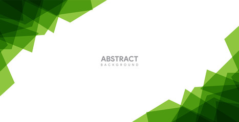abstract green background design. modern green background template Wall mural
