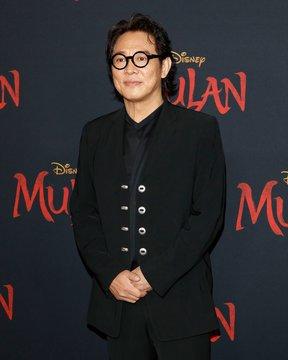 Jet Li at arrivals for MULAN Premiere