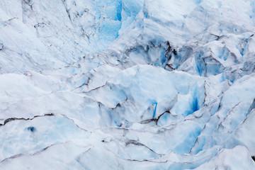 Detail of the Ice Field at Perito Moreno Glacier, Los Glaciares National Park, UNESCO World Heritage Site, Patagonia, Argentina, South America