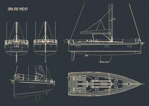 Sailing Yacht Blueprints