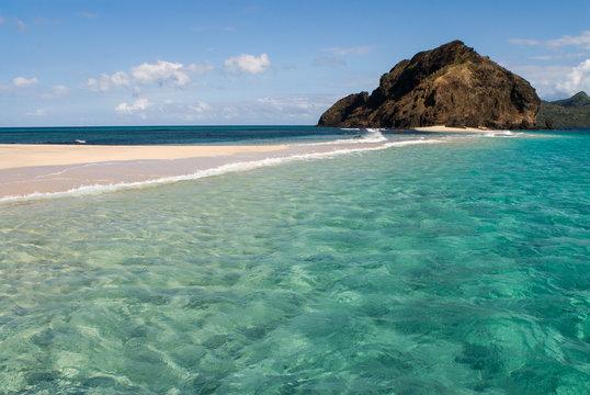 Point de vue de l'îlot Choizil à Mayotte.