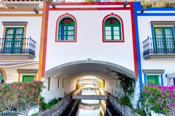 Fotomurales - Puerto de Mogan, Gran Canaria