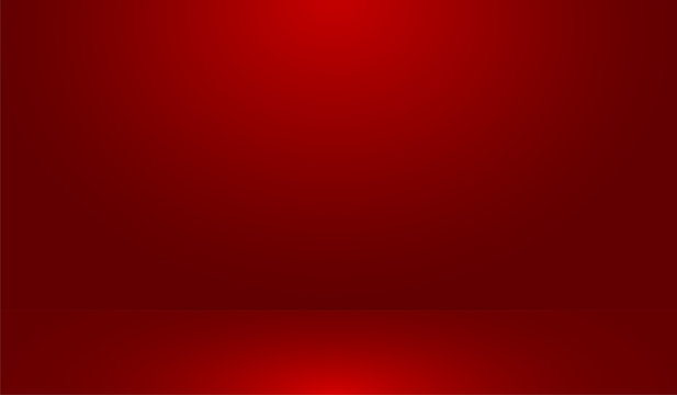 Red Background Vector Illustration of Room, Studio, Interior, Cafe and Another Purposes