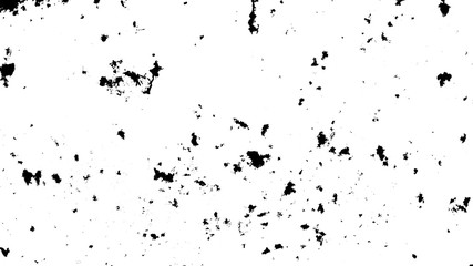black sand isolated on white background. Fototapete