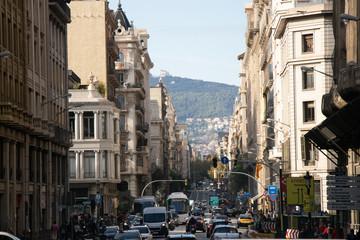 Fotobehang Madrid Ciudad