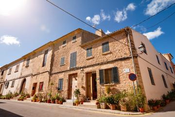 Historische Altstadt von Alcúdia, Mallorca Spanien Fotomurales