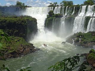Paisajes de las cataratas de Iguazú Wall mural