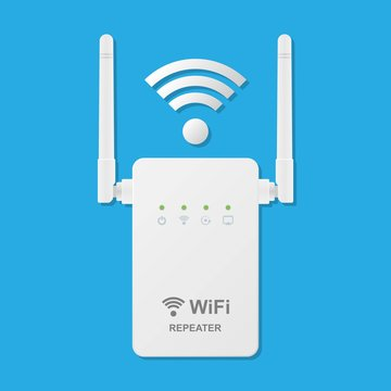 Wireless Repeater Access Point Network Sharing