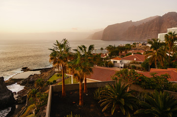 Photo sur Toile Iles Canaries landscape in los giants, tenerife