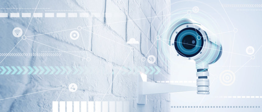 CCTV camera whis ai technology of web configuration and connecting to clouds data base.