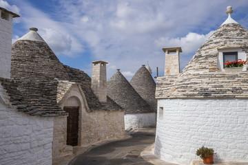 Wall Mural - Roof stones trulli of Alberobello. Puglia, southern Italy.