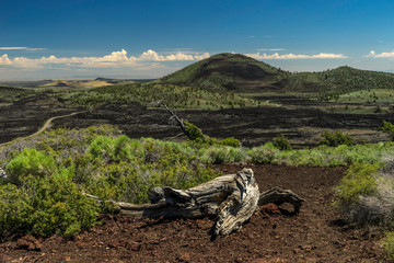 Canvas Prints Khaki Craters of the Moon National Monument and Preserve, Idaho