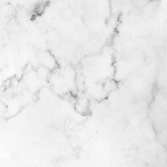 Photo sur Aluminium White marble texture background pattern with high resolution.