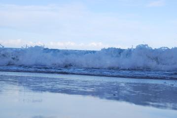 Wall Murals Lake Australian tide rushing in