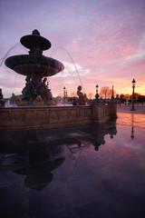 Papiers peints Rose clair / pale Paris Monument 646