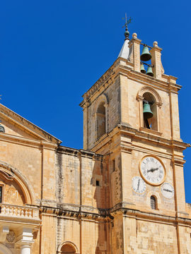 St John Cathedral at Valletta old town