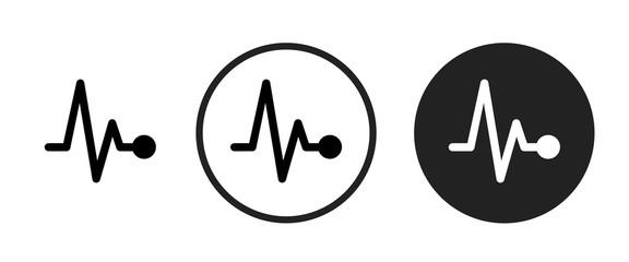 pulse icon . web icon set .vector illustration