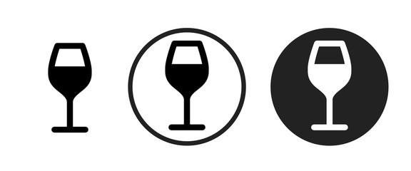 wine icon . web icon set .vector illustration Fototapete