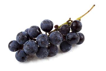 Black wine grape Fototapete