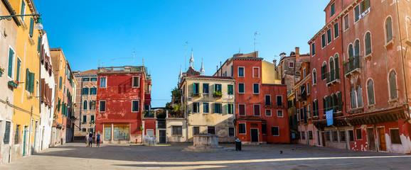 Keuken foto achterwand Oude gebouw Little square in Venice
