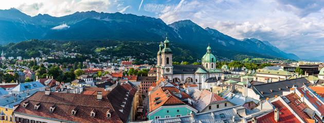 Townscape of Innsbruck Fotomurales