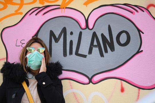 Day six of Italy's nationwide coronavirus lockdown, in Milan