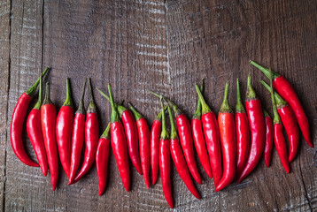Canvas Prints Hot chili peppers Vegetables Show