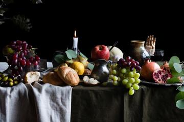 Dutch Still Life with Food