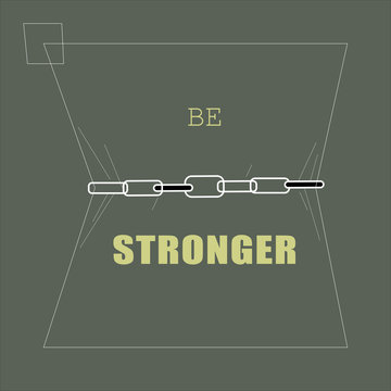 be stronger than yesterday and keep stronger always