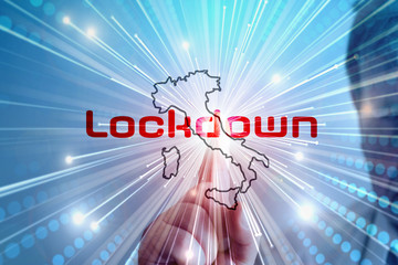 Coronavirus und Lockdown Italien