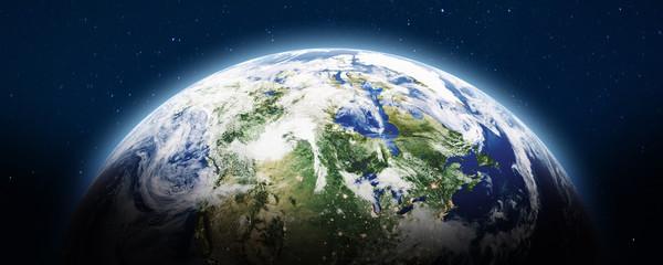 Wall Mural - Planet Earth panoramic