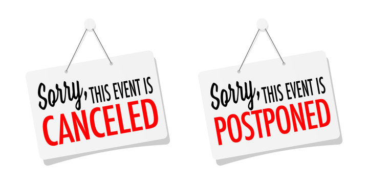 Sorry, this event is canceled or postponed on sticker