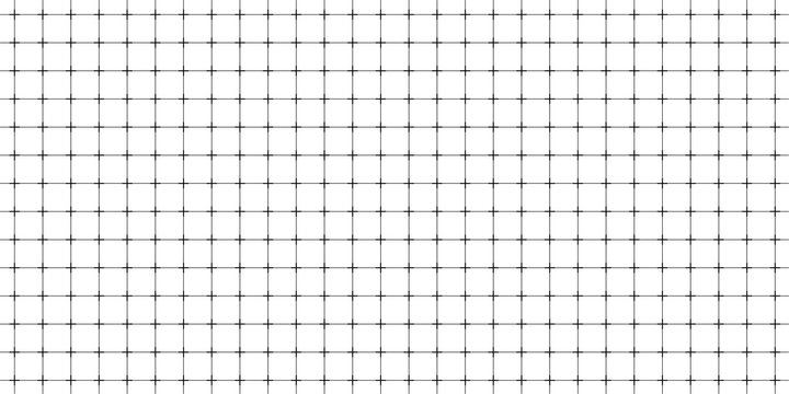 Lined paper with a seamless squared grid.
