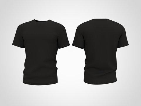 T- Shirt  Mockup 3D Rendering Design