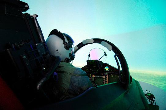 flugsimulator eurofighter