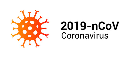 Coronavirus covid 19 vector icon. Pandemic corona virus illustration sign