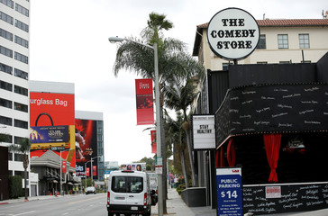 The Comedy Store is pictured during the global outbreak of coronavirus (COVID-19) in West Hollywood